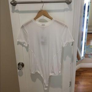 MinkPink Tee Shirt Bodysuit